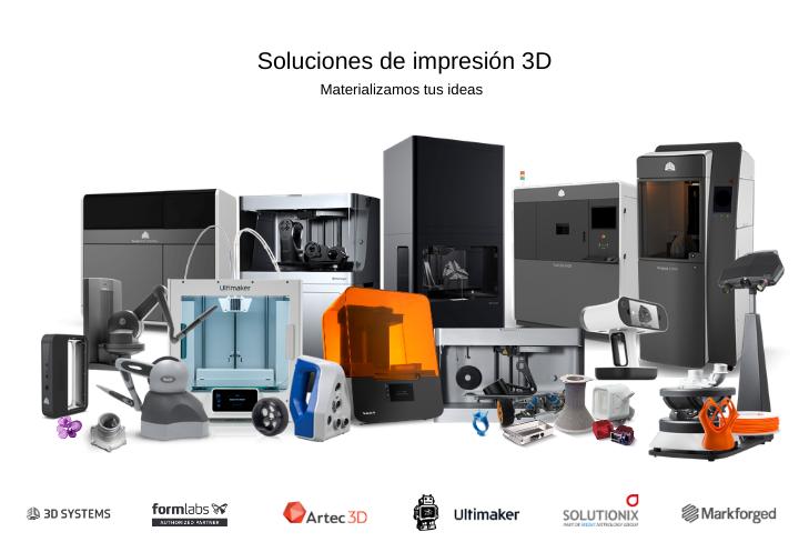 Copia de Soluciones de impresión 3D