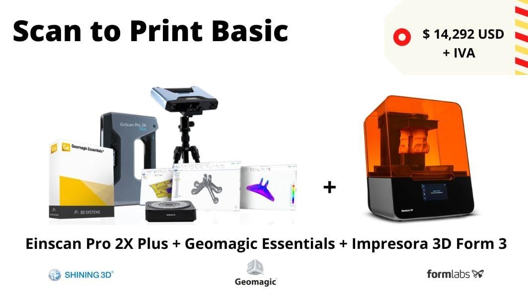 Scan to print Basic SLA